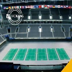 Badminton PVC Vinyl Flooring