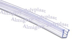 PVC Clear Glass Rubber Profile
