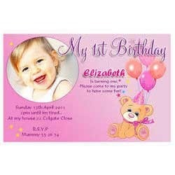 Invitation card birthday invitation card manufacturer from delhi birthday invitation card stopboris Images