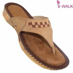 Ladies Leather Comfort Chappal 1434