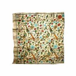Kantha Silk Cotton Scarves