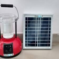 Solar Lantern with Panel