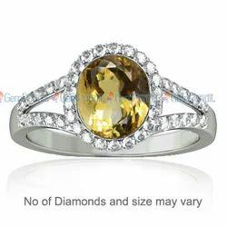 Citrine Dazzle Ring
