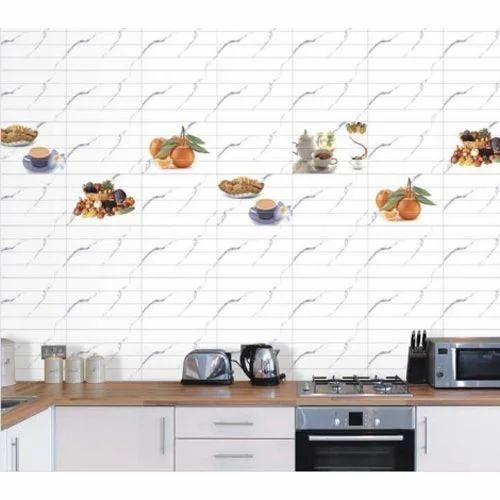 Kitchen Tiles Layout: Designer Kitchen Tiles Manufacturer From Morbi