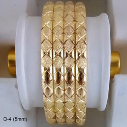 Stylist Gold Plated Bangles