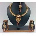 Exclusive Gold Pendant Set