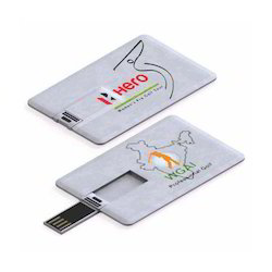Credit Card Shape Pen Drive 16GB