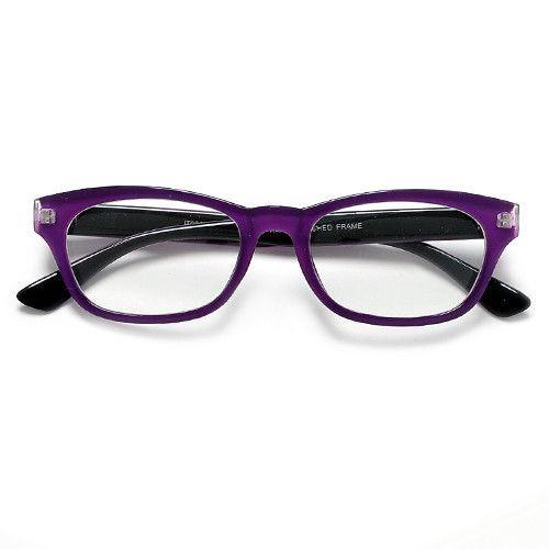 Plastic Eye Frame - Purple Plastic Optical Frames Manufacturer from ...