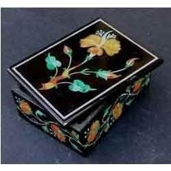Marble Inlay Ring Box