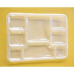 Plastic 8 Compartment Meal Tray