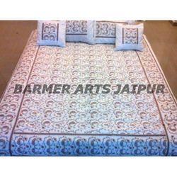 Velvet Embroidery Sari Jaal