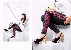 Embroidery Leggings
