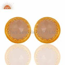Brass Studs Earrings