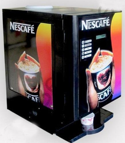Coffee Vending Machine Distributors Nescafe 4 Option Manufacturer From Chennai