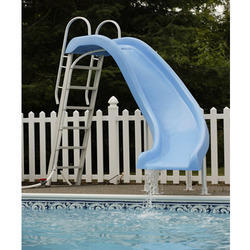 Swimming pool slides manufacturer from rajkot for Swimming pool water slide parts