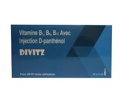 Vitamin B1, B6, B12, With D-Panthenol Injection