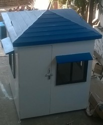 FRP Security Cabin - Size -  6ft x 6ft x 8ft