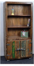 Recycled Wood Bookcase - Recycled Wood Furniture