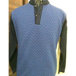 Buttoned Sweatshirt