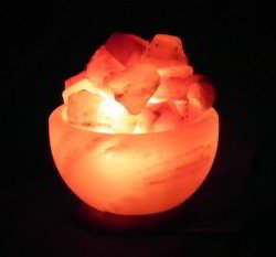 Fire Bowl Salt Lamps
