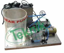 Gear Pump Demonstration Unit