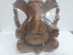 Natural Kadam Wood Made Ganpati Ganesh Murti Idol
