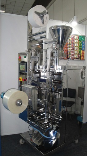 Tea Bag In Outer Envelope Packing Machine