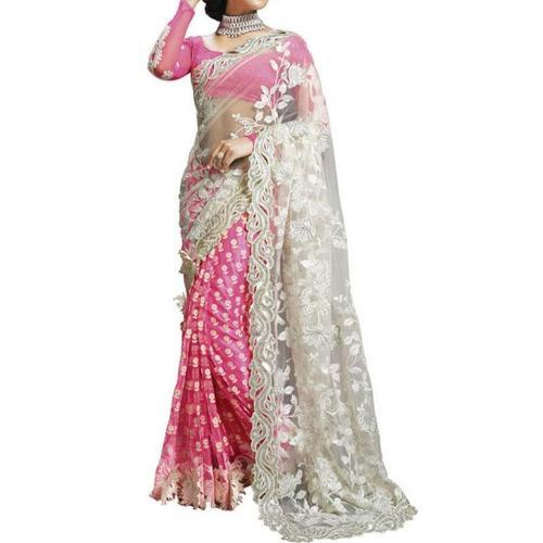 5b95e1495e96c2 Stone Work Saree at Best Price in India