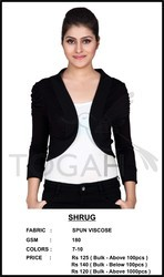 Ladies Black Shrug