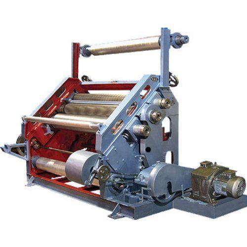 Oblique High Speed Single Face Paper Corrugation Machine