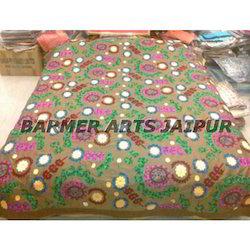 Bed Cover Half Suzani Design