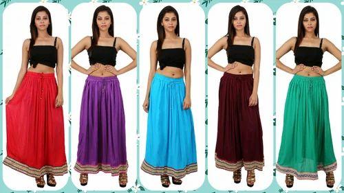 Women'sRayon Skirts