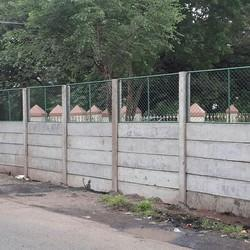 Compound Wall With Jali