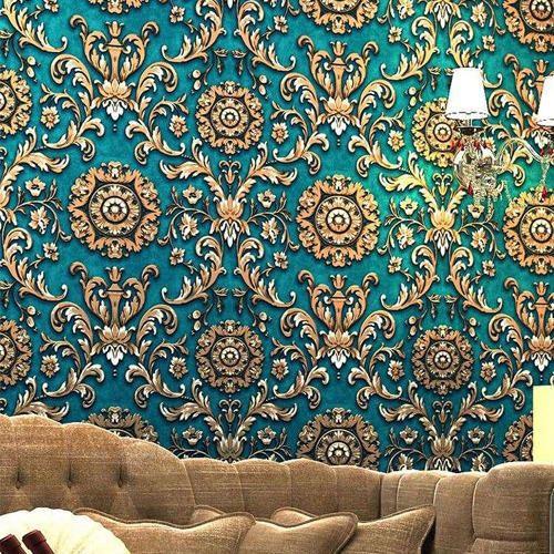 Custom Work On Wallpaper