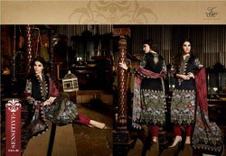 Cotton Satin Digital Printed Suit