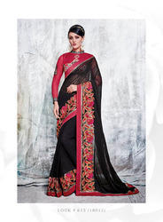 Beauty Glam Printed Designer Sarees