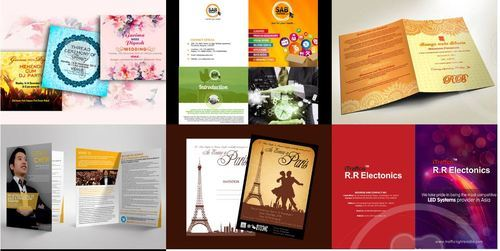 Brochure, Pamphlets & Flyers Designing