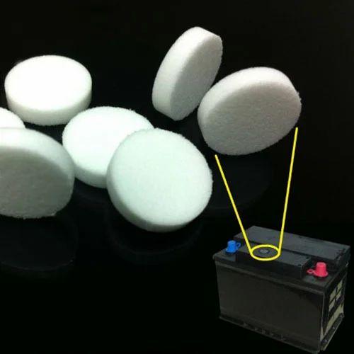 Sintered Porous Plastic Battery Flame Arrestors