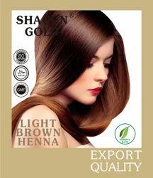 Henna  Based Light Brown Hair Dyes