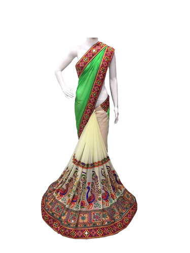 embrodary Designer georgette Saree