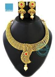 Antique Traditional Ethnic Designer Necklace Set
