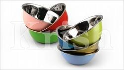 Colored Deep Mixing Bowls