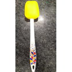 Silicone Spoon With PP Printied Stick