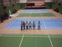 Poly Urethane Badminton Court