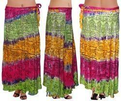 Rayon Wrap Skirt