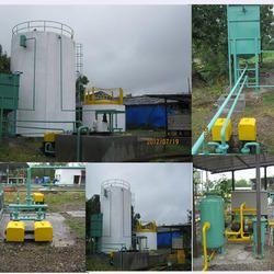 municipal solid waste based bio gas plant