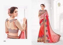 Sasya Vogue Pure Silk Saree