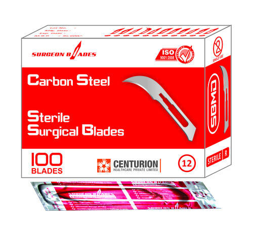 Sterile Surgical Blades Size 12