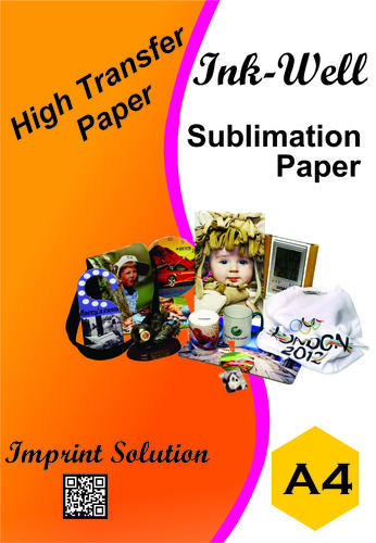 Sublimation Papers - A4 Size/100 Sheet