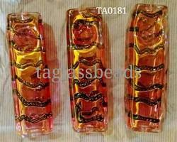 Gold Furnace Glass Smoking Pipes